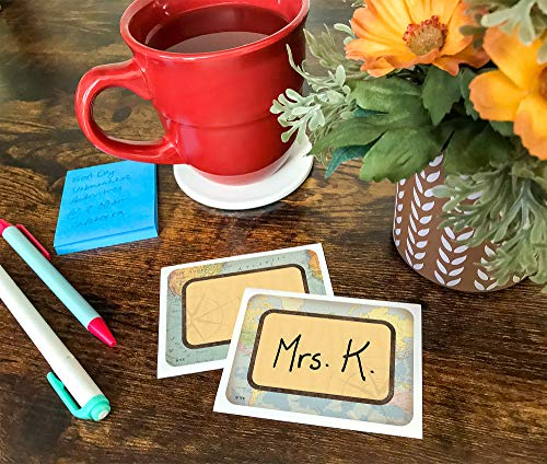 Teacher Created Resources Travel The Map Name Tags/Labels - Multi-Pack (TCR8574) Photo #3