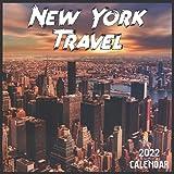 New York Travel Calendar 2022: 2021-2022 New York Weekly & Monthly Planner | 2-Year Pocket Calendar | 19 Months | Organizer | Agenda | Appointment | For New York Lovers