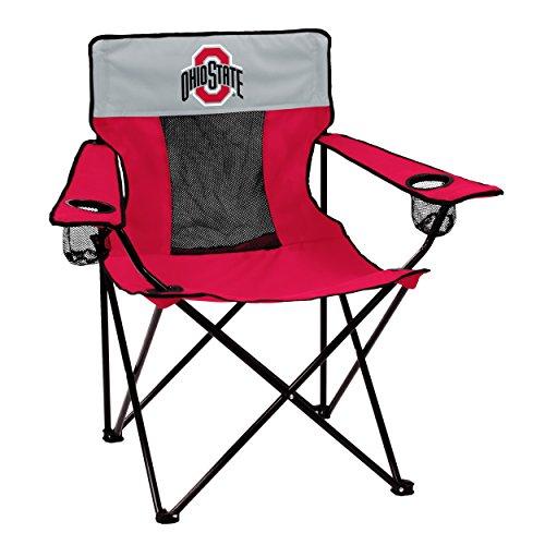 Logo Brands 191-12E Collegiate Ohio State Buckeyes Elite Chair, Red, Adult