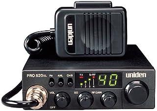 Uniden PRO520XL Pro Series 40-Channel CB Radio. Compact Design. ANL Switch and PA/CB..