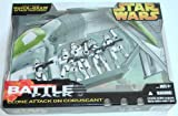 Star Wars Target Exclusive Clone Attack On Coruscant Battle Pack 5 Clones