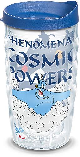 Tervis Disney Aladdin Genie Isolierbecher mit Deckel und Deckel, 284 ml, transparent