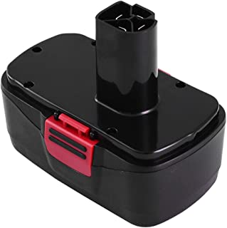 19.2 Volt 3.6Ah Ni-MH Replace for Craftsman 19.2 Volt Battery Diehard C3 1323903 130279005 11375 1323517 315.115410 315.11485 315.114852 Cordless Drill Tool Battery-1 Pack