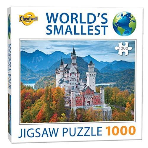 World's Smallest 1000 Pezzi Puzzle - Neuschwanstein Castle