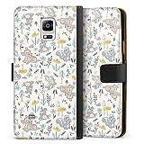 DeinDesign Étui Compatible avec Samsung Galaxy Note 4 Étui Folio Étui magnétique Produit sous...
