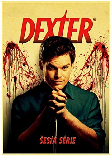 Diamond Painting 5D DIY Cross Stitch Kits for Adults 40X50cm Classic Horror Tv Show Dexter Retro Poster Art Painting Home Decor
