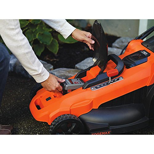 BLACK+DECKER 40V MAX Cordless Lawn Mower, 20-Inch (CM2043C)
