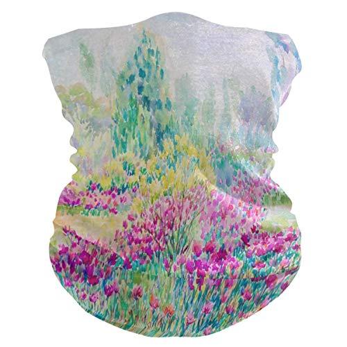 16-in-1 hoofdband, kleurrijke madeliefjes, bloemen, hals, gamas, hoofdwikkel, hoofdband, bandana, uv-bescherming, magische sjaal voor paardrijden, wandelen