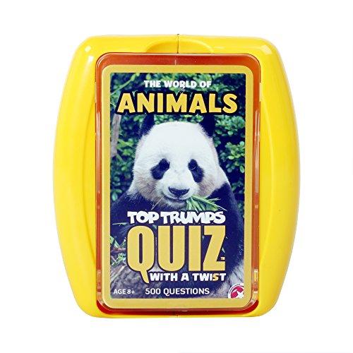 Top Trumps - Juego de Preguntas sobre Animales (en inglés)