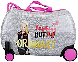 Nickelodeon JoJo Siwa - Carry On Luggage Kids Ride-On Suitcase