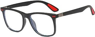 Inlefen Fashion Men and women Optical glasses Leisure square Full frame Glasses frame Resin lens