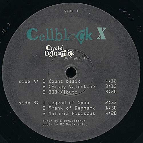 Cellblock X - Cystal Dynamics - Underworld Recordings - UW 9602-12