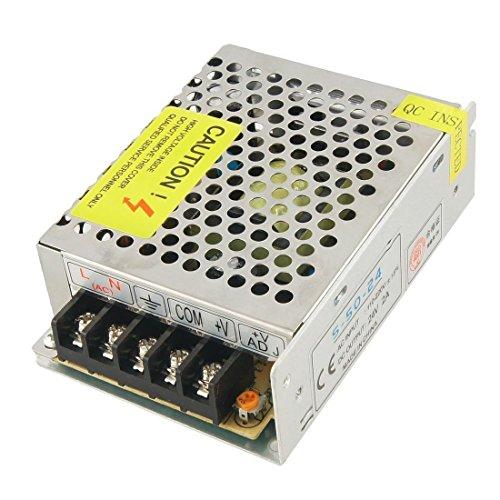 Fuente de alimentacion interruptor - TOOGOO(R)AC 110-220V DC 24V 2A 48W Transformador de fuente de alimentacion interruptor para LED luz de tira