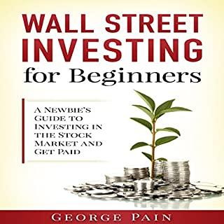 Wall Street Investing for Beginners audiobook cover art