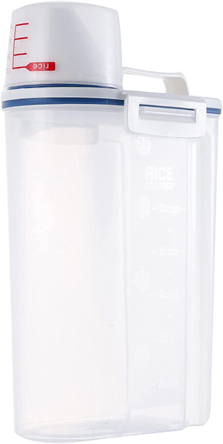 Cereal Storage Containers Airtight Cere NEW Nippon regular agency before selling ☆ Practical Food
