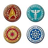 Ata-Boy Star Trek Starfleet Academy Insignias...