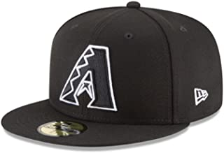 59Fifty Hat MLB Basic Arizona Diamondbacks Black/White Fitted Baseball Cap