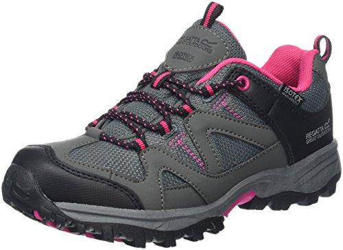 Regatta Gatlin Low, Chaussures de Randonnée Basses Mixte Enfant, Gris (Granit/duchs), 30 EU
