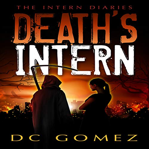Death's Intern audiobook cover art