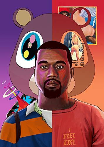 Kanye West Poster Print Art Wall Decor