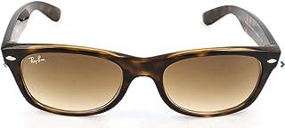 نظارة شمسية واي فيرير عصرية شبه مربعة للجنسين من راي بان، 51 ملم - RB2132