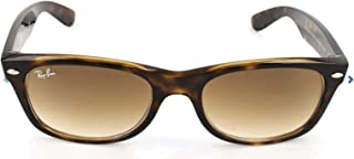 Ray-Ban, RB2132, New Wayfarer Sunglasses, Unisex Ray-Ban Sunglasses 51mm