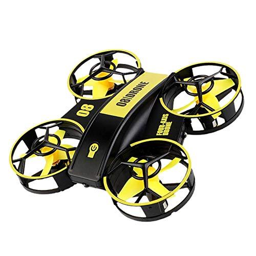 waysad Mini Quadrocopter Drohne Ferngesteuerte Drohne Spielzeug Drohne mit Höhenhaltemodus, Start/Landung Blitzlicht für Kinder und Anfänger