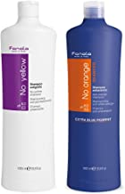 Fanola No Yellow and No Orange Shampoo Package, 1000 ml