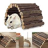 EAGLESTIME Pont en Bois Jouets pour Rat Hamster