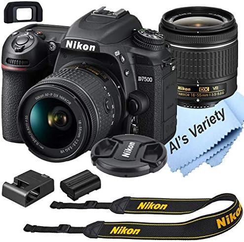 Nikon D7500 DSLR Camera Kit with 18 55mm VR Lens Built in Wi Fi 20 9 MP CMOS Sensor EXPEED 5 product image