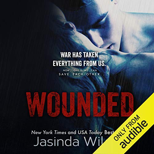 Wounded audiobook cover art