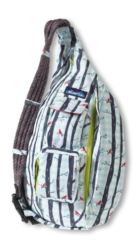 KAVU Rope Bag, Red Birds, One Size