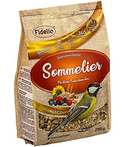 Fidelio Wildvogelfutter, Sommelier, schalenfrei, 750 g