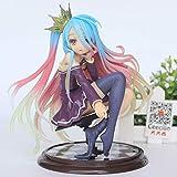 15cm Anime Life No Game No Life Shiro Juego de la Vida 1/7 Escala PVC Figura de acción Modelo
