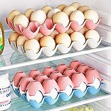 HUICHEN 1 Pcs Kitchen Egg Storage Box Refrigerator Egg Storage Rack and Shelf Household Applies Storage Organization Kitch...