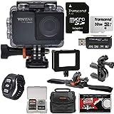 Vivitar DVR794HD 1080p HD Wi-Fi Waterproof Action Video Camera Camcorder (Black)...