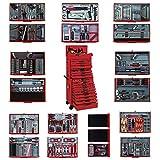 Tengtools TCMM1001N - Carro completo de 1001 piezas