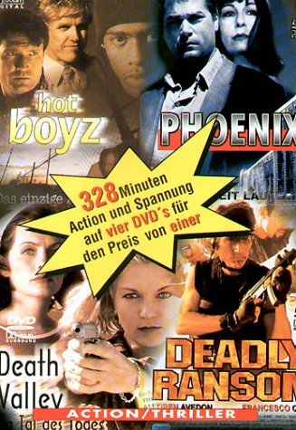 4 x Action (Hot Boyz - Phoenix - Death Valley - Deadly Ransom) [4 DVDs]