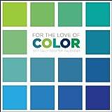 TF Publishing Kalender 2017 für den täglichen Schreibtischkalender mit Aufschrift'For the Love of Color'