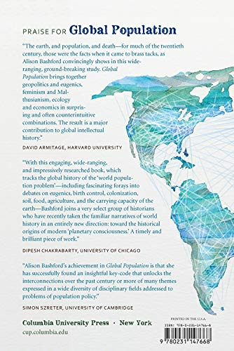Global Population: History, Geopolitics, and Life on Earth