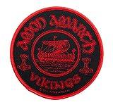 Amon Amarth–Viking circular [Patch/parche, tejida] [sp2558]