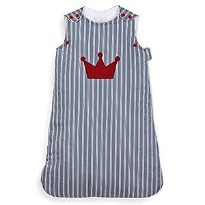 NioviLu Design Saco de dormir para bebé – Le Roi (0-6 meses / 70 cm – 1 Tog)