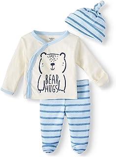 Baby Boy Organic Cotton Take Me Home Outfit 3-Piece