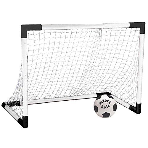 Mondo Set Porta Calcio Calcetto Pallone Allenamento Rete Sport Gioco 91,5x63 cm