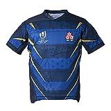RENDONG 2019 Japon Coupe du Monde Maillot de Rugby Japon Cerise Coupe du Monde de Rugby Jersey,A,XL