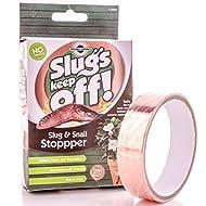 Slug & Snail Repellent | 2m Copper Barrier Tape