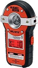 BLACK+DECKER Line Laser, Auto-leveling with Stud Sensor (BDL190S),Black/Orange