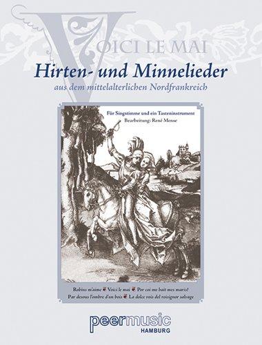 Hirten- und Minnelieder aus dem mittelalterlichen Nordfrankreich für Gesang und Klavier - Noten