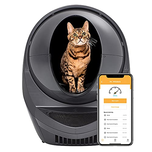 Litter-Robot 3 Connect - Automatic, Self-Cleaning Litter Box for Cats - Designed and Assembled in...