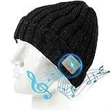 Wireless Music Beanie Hat with Headphones Headset...